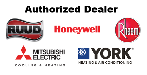 Accurate Conditioning is an authorized dealer for Ruud, Rheem and Honeywell